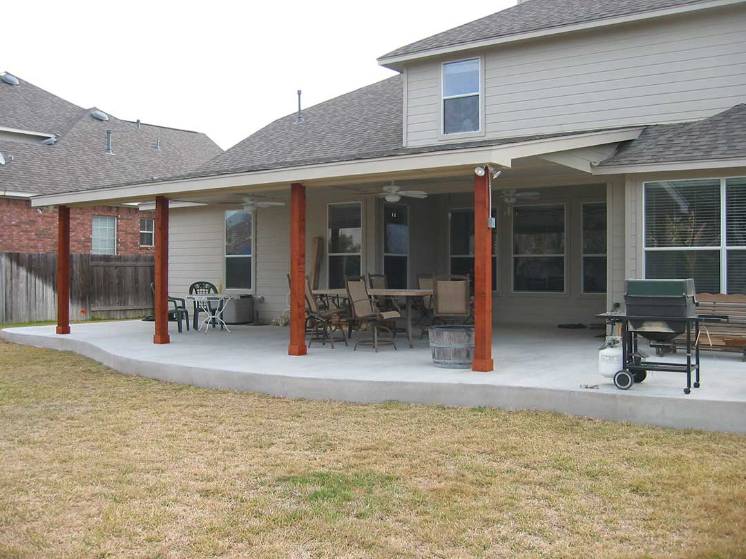 patio covers protection from the elements nu view rh patioaustintx com Floor Wire Cover Electrical Cord Covers